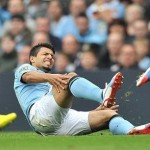 Aguero could be out for weeks with his injury
