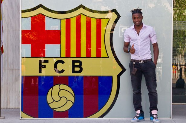 Alex Song will fulfil his childhood dreams