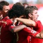 Bayern celebrate their victory