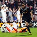 Borini celebrates Liverpool's own-goal winner
