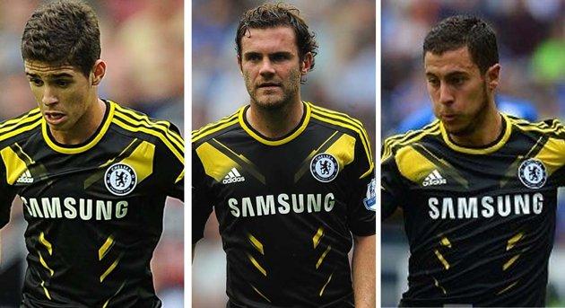 Chelsea trio