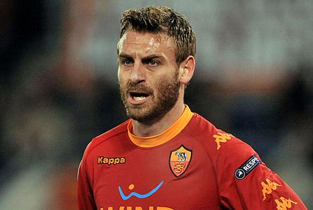Daniele De Rossi won't leave Roma for Manchester City