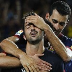 Villa scores on return as Barca thump Sociedad