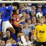 Fellaini scores his first goal for the start of the Premiership