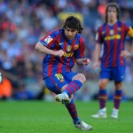 Real Madrid vs Barcelona 2-1 Lionel Messi Amazing FreeKick GOAL 29-12-2012 SUPERCOPA