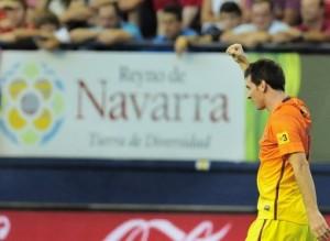 Messi makes magic last night with 2 goals against Osasuna