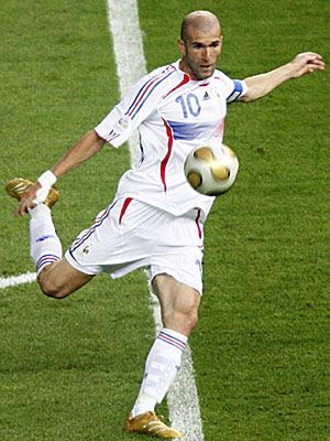 Zinedine Zidane, the Magician
