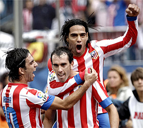 Atletico Madrid 2 - 1 Valladolid