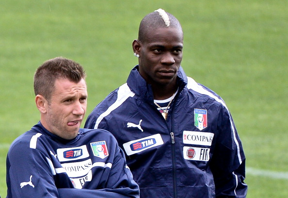 Balotelli and Cassano