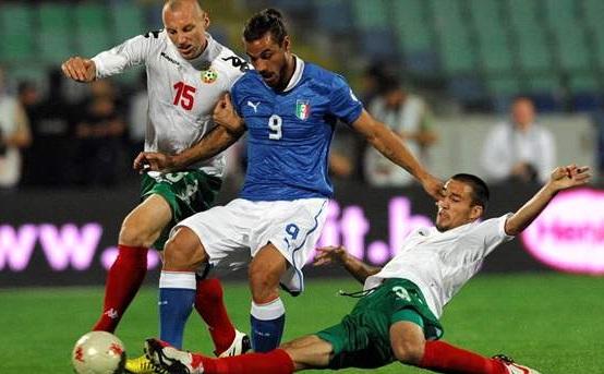 Bulgaria 2 - 2 Italy