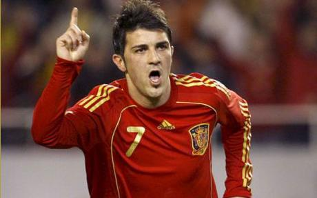David Villa back in Spain recall for World Cup Qualifier