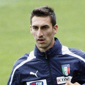 Davide Astori with injury