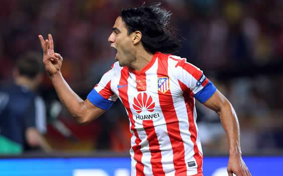 Falcao scored an amazing hat-trick against Chelsea in the Supercup. He could be playing for Man city next January.