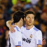 Gonzalo Higuain and Xabi Alonso