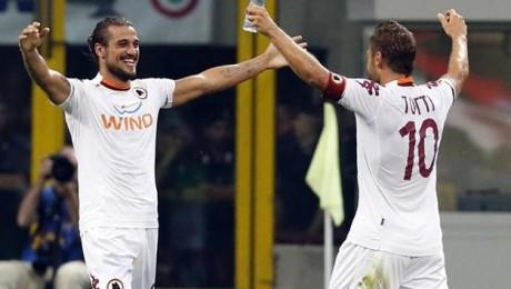Inter Milan 1-3 AS Roma