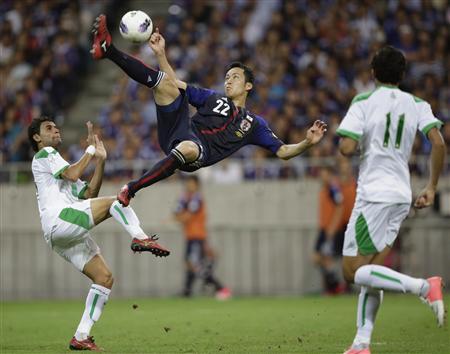 Japan 1-0 Iraq