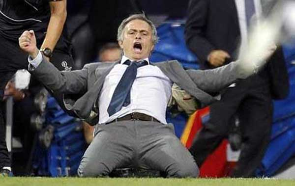 Jose Mourinho glee as Real Madrid capture late victory
