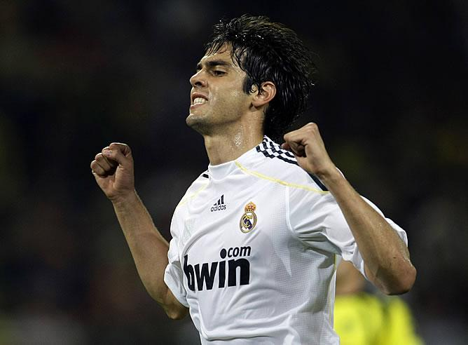 Kaka_scored three times and delivered a world-class performance against Millionarios