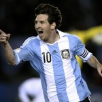 Messi leads Argentina to top of World Cup table