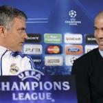Zidane dribbles Mourinho