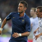 Giroud out of France's 2014 World Cup qualifier with Finland