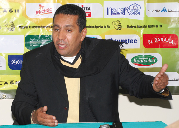 Rachid Taoussi, the new Moroccan national manager