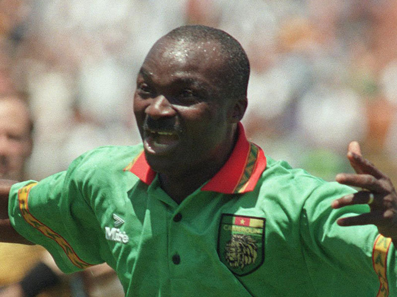 Roger Milla, the Old Lion, rightly recognized african player of the twentieth century, he will always be the most important player in the history of African football.