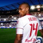 Sick corner kick by Thierry henry