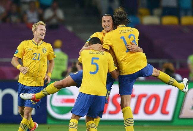 Sweden 2 - 0 Kazakhstan