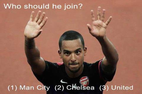 Theo Walcott, where would he go?