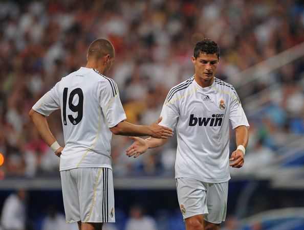 Benzema and Ronaldo go... Benzema And Ronaldo 2012