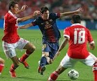 Benfica 0 – 2 Barcelona Highlights