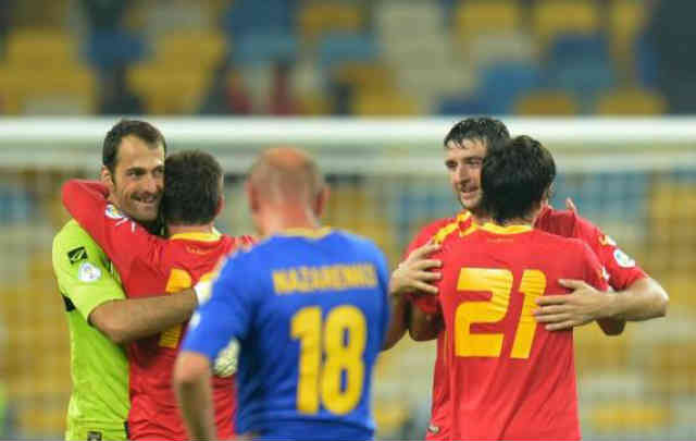 Big shock to to Ukraine as they face defeat against Montenegro