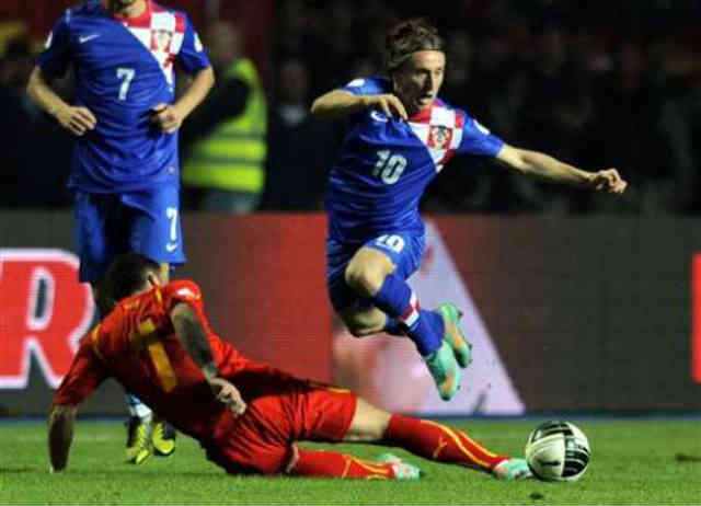 Croatia needed a victory to save alive in their group and managed to get a victory