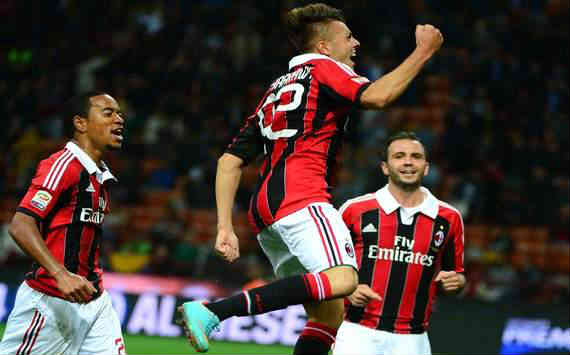 El Shaarawy gives AC Milan the victory in their Serie A