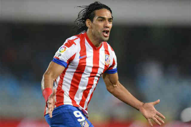 Falcao on the rise of being one of the best goal scores as he brings his team victory over Osasuna