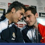 Friends or just teammates? Iker Casillas chose not to vote for Cristiano Ronaldo for the ballon d'or 2012 but for his fellow spaniard Sergio Ramos