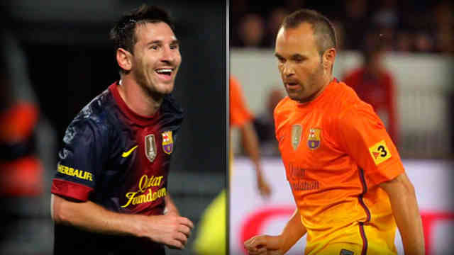 Iniesta is saying that Lionel Messi is the best player in the world today