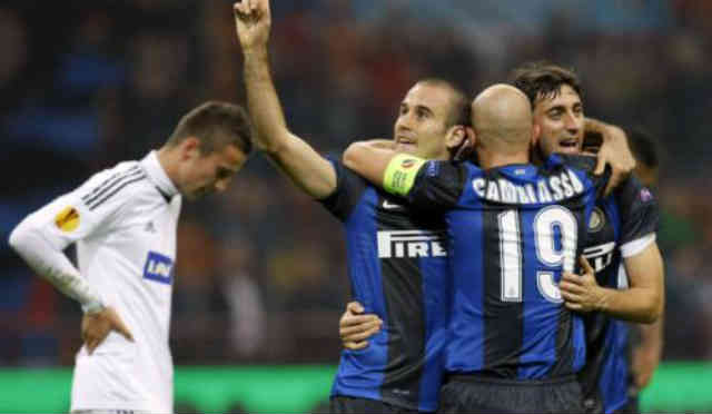 Inter Milan continue to go forward in the Europa League