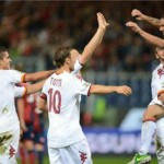 Genoa 2 : 4 AS Roma Highlights