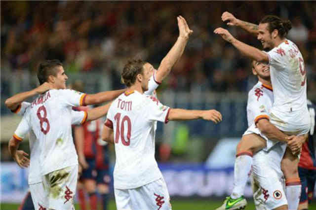 It looks like the Roma as come back with as they get their victory against Genoa