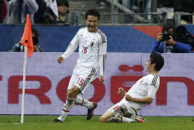 Japan take a surprise victory against the French in their friendly
