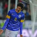 Kaka celebrates his goal against Iraq-football