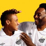 King Pele and his protege Neymar whom he believes is better than Messi