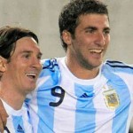 Lionel Messi and Gonzalo Higuain top scorers