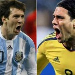 Messi and Falcao are featured in this week's team of the week
