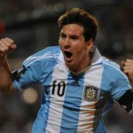Messi does his country by leading his country to victory againt Uruguay