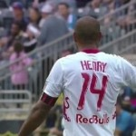 Thierry Henry mocking Philadelphia Supporters