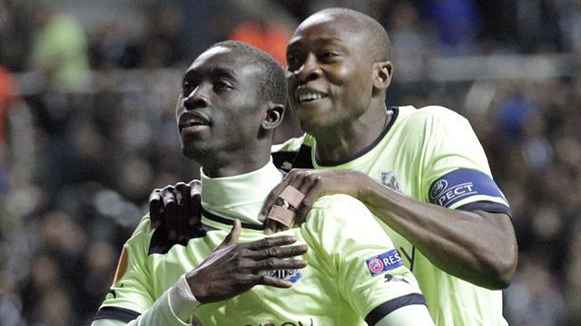 Newcastle 3-0 Girondins Bordeaux Highlights