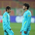 Neymar wants to play with Kaka